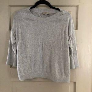 Light Scoop-Neck 3/4 Summer Sweater